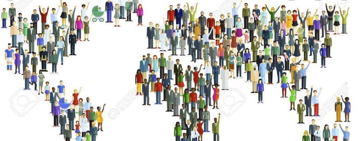 Número habitantes del  Mundo